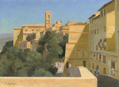 Painting - Colle Val D 'elsa by Ben Rikken