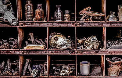 Photograph - Collection At Techatticup Gold Mine-alt Process by  Onyonet  Photo Studios