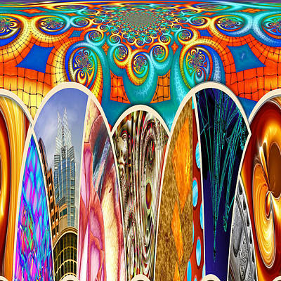 Digital Art - Collective 07 Of 26 by Wendy J St Christopher