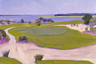 Bluffton Painting - Colleton River Golf by Candace Lovely