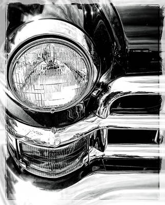Photograph - One Headlight  by Roxy Hurtubise