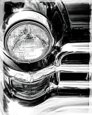 Photograph - One Headlight  by Roxy Hurtubise
