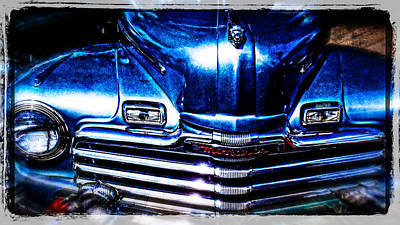 Photograph - The Monarch Collector Vehicle by Roxy Hurtubise