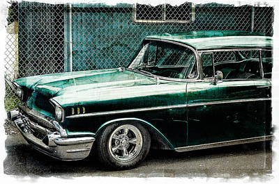 Photograph - Collector Car Hot Rod Edition by Roxy Hurtubise