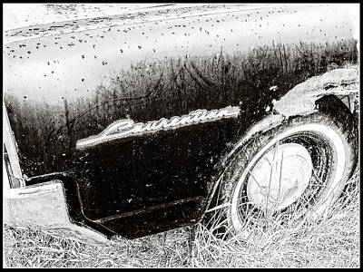 Photograph - Laurentian Collector Car by Roxy Hurtubise
