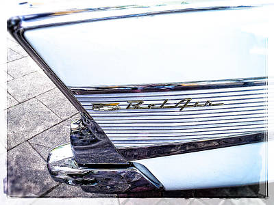 Catch Of The Day - Collector Car The BelAir by Roxy Hurtubise