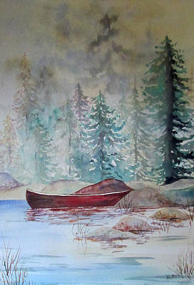 Painting - Colleen's Boat by Susan Duxter