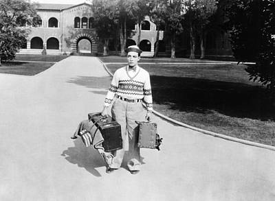 College, Buster Keaton, 1927 Print by Everett