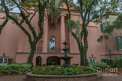 Photograph - College Courtyard by Dale Powell