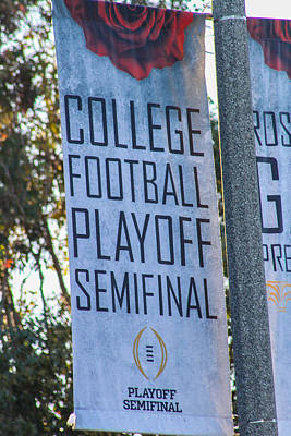 Photograph - College Football by Robert Hebert