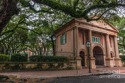 Photograph - College Of Charleston Campus by Dale Powell