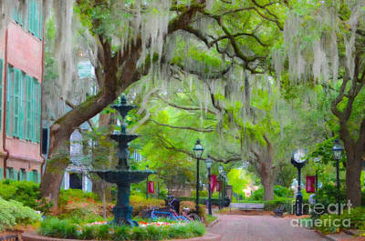 College Of Charleston Art Print
