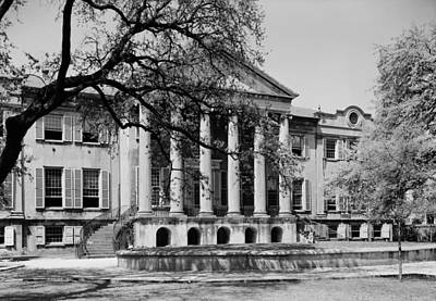 1940 Photograph - College Of Charleston Main Building 1940 by Mountain Dreams