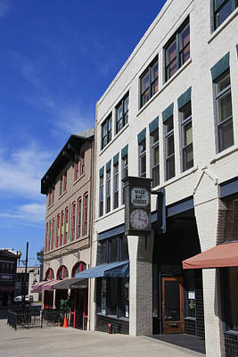 Photograph - College Street Asheville by Melinda Fawver