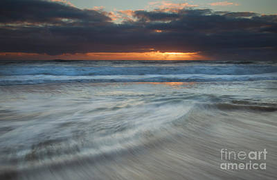 Colliding Tides Art Print by Mike  Dawson