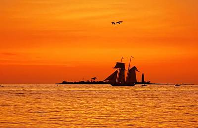 Photograph - Collingwood Tall Ships by Jeff S PhotoArt