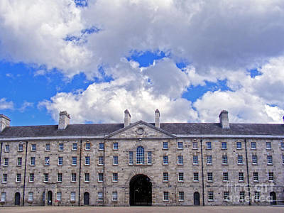 Photograph - Collins Barracks In Dublin by Nina Ficur Feenan