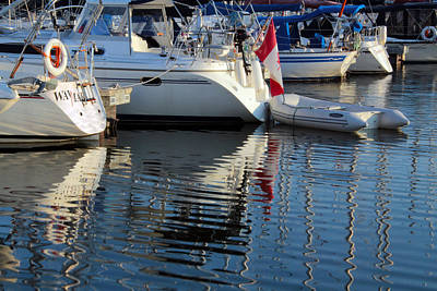 Photograph - Collins Bay Marina 5 by Jim Vance