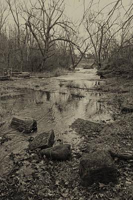 Photograph - Collins Creek Landscape IIi by Jim Vance