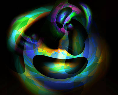 Digital Art - Colloidal Universe 3 by Lynda Lehmann