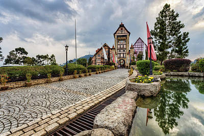 Photograph - Colmar Tropicale by Mario Legaspi