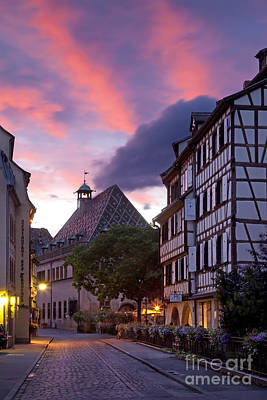 Colmar Twilight Art Print
