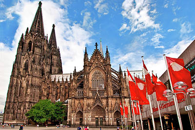 Cologne Cathedral, Cologne, Germany Art Print