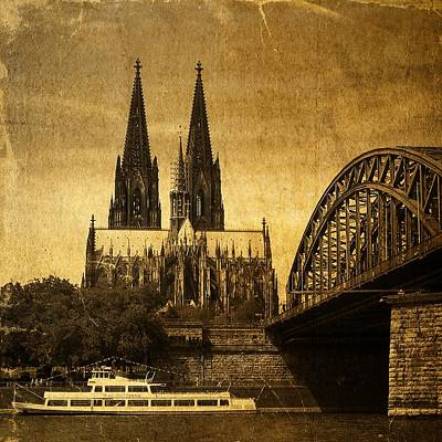 Siebenhuehner Photograph - Cologne Cathedral by Gabi Siebenhuehner