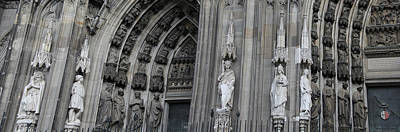 Typography Tees - Cologne Cathedral South Side Detail 1 by Teresa Mucha
