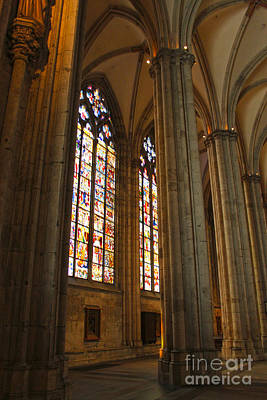Cologne Germany - High Cathedral Of St. Peter - 02 Art Print by Gregory Dyer