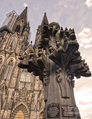Cologne Germany - High Cathedral Of St. Peter - 08 Art Print by Gregory Dyer