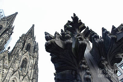 Cologne Germany - High Cathedral Of St. Peter - 09 Art Print by Gregory Dyer
