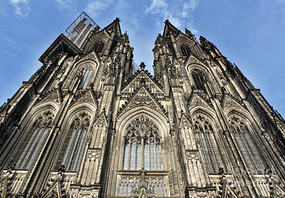 Cologne Germany - High Cathedral Of St. Peter - 16 Art Print by Gregory Dyer