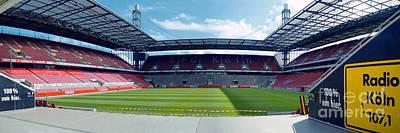 Photograph - Cologne Rheinenergie Arena by Rudi Prott
