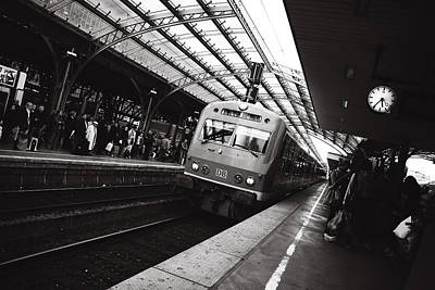 Zug Photograph - Cologne Trainstation by Jimmy Karlsson