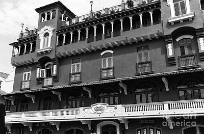 Photograph - Colombia Hotel Mono by John Rizzuto