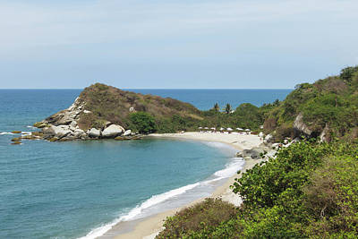 Colombia, Tayrona National Park Art Print by Matt Freedman