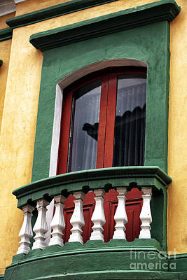 Photograph - Colombian Window Dressing by John Rizzuto