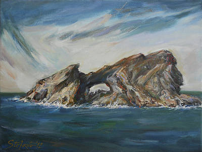 Colombretes Island II Art Print by Stefano Popovski
