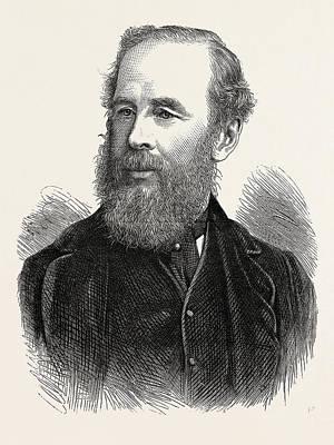 Philadelphia Drawing - Colonel H.b. Sandford, British Executive Commissioner by English School