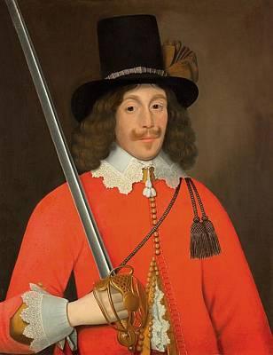 Colonel John Hutchinson, C.1643 Art Print by John Souch