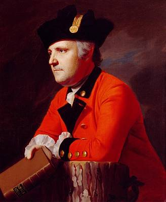 Book Jacket Painting - Colonel John Montresor by John Singleton Copley