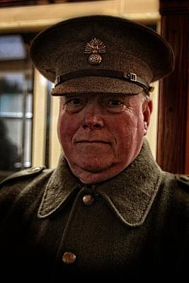 Photograph - Colonel Mcaffet - 1st Regiment Royal Horse Artillery by Doc Braham