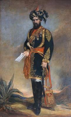 Raj Painting - Colonel Probyn Cb Vc Honorary Adc by James Rannie Swinton