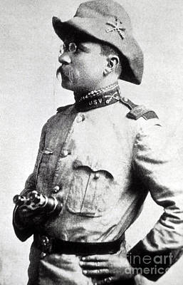 Photograph - Colonel Theodore Roosevelt 1898 by NPS Photo