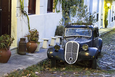 Photograph - Colonia Del Sacramento Oldtimer by For Ninety One Days
