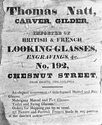Painting - Colonial Advertisement by Granger