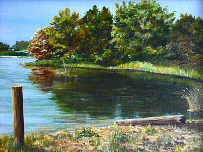 Painting - Colonial Beach by AnnaJo Vahle