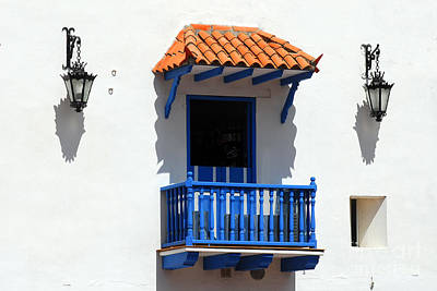 Photograph - Colonial Building Cartagena Walled City 647 by Colin Munro