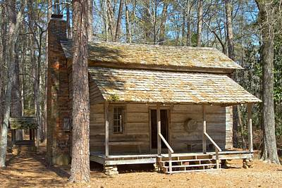 Photograph - Colonial Cabin by Gordon Elwell